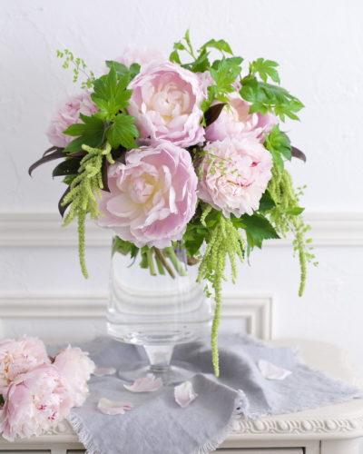 『芍薬』生花 季節のブーケレッスンのお知らせ