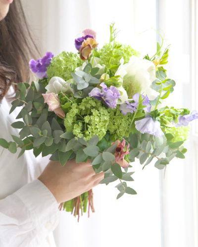 『春待ちブーケ』生花 季節のブーケレッスン募集のお知らせ