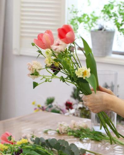 『春待ちブーケ』レッスンレポート